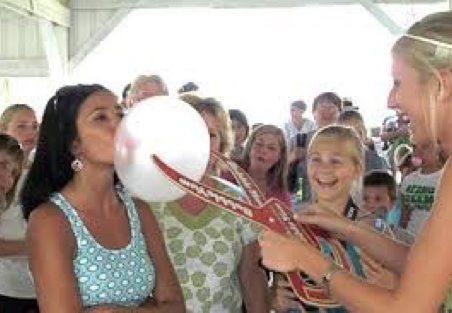 Bubble Gum Blowing Contest