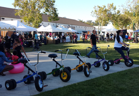 Adult Tricycle Races