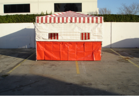10 Foot Food Booth Rentals Orange County