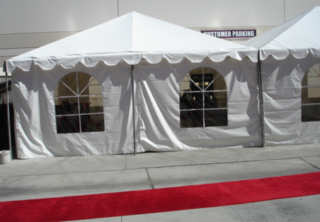 20x20 Canopy Booth Rentals Orange County