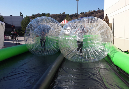Bubble Roller Racing