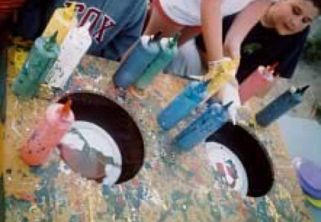 Frisbee Art