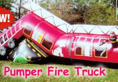 Pumper Fire Truck Tunnel