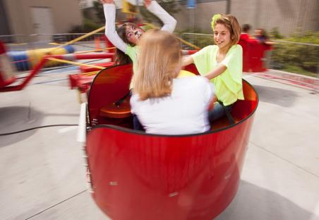 Tubs of Fun Ride