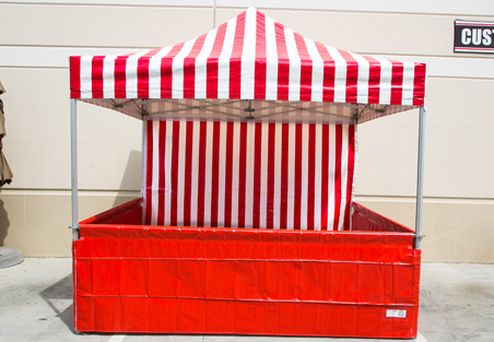 10x10 Canopy Booth Rentals Orange County