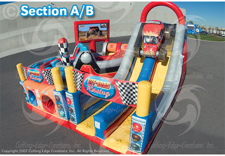 Off Road Obstacle Cours A-B