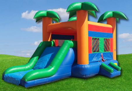 Paradise Jump Slide Combo