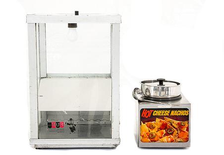 Nacho Machine with Chip Warmer