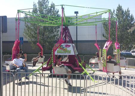 Ballistic Swing Chair Ride