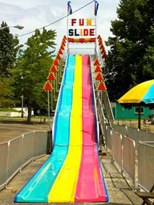 3 Lane Fiberglass Slide(up to 4 hours)