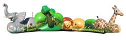 Zoo Animals Crawl Thru