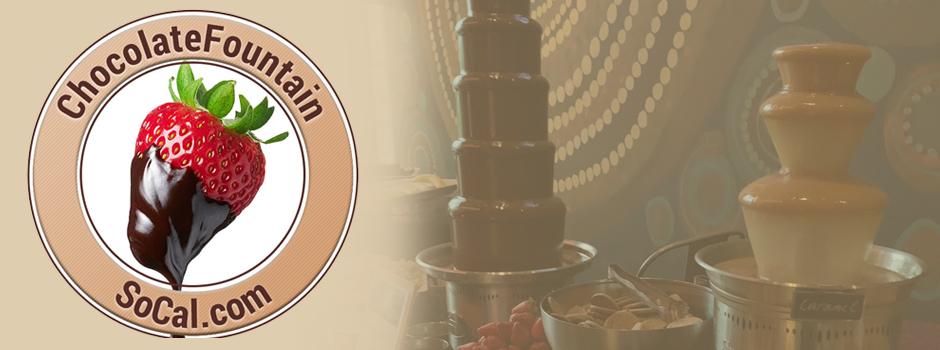 Chocolate Fountain SoCal Logo
